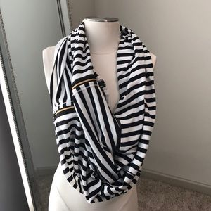 LULULEMON VINYASA SCARF WITH ZIPPER